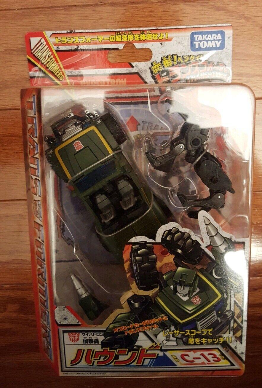 Takara Henkei Hound and Ravage Transformers Classics Unopened Sealed MOSC NEW