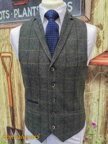 MEN/'S GREY WOOL MIX TWEED MIX /& MATCH JACKET WAISTCOAT TROUSERS SOLD SEPARATELY
