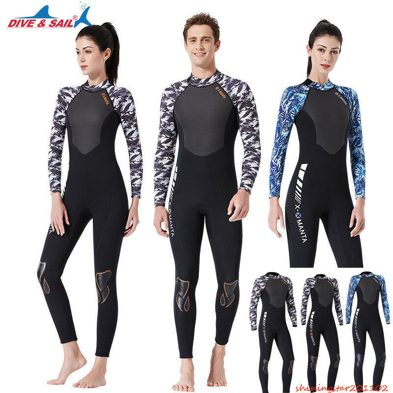 3MM Couples Wetsuit Warm SCR Neoprene Scuba Diving Spearfishing Surfing Wetsuit