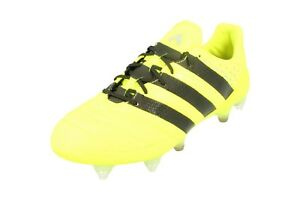 best service ff195 1bb2e Details about Adidas Ace 16.1 SG AQ4451 Leather Mens Football Boots Soccer  Cleats
