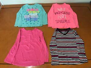 75211035e27b63 Lot of 4 Girls Kids The Children s Place Pink Blue Long Sleeve ...