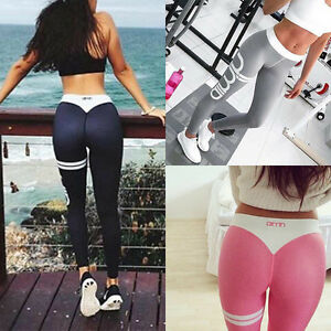 Fashion Women's Sports Gym Yoga Running Fitness Leggings Pants Workout Clothes