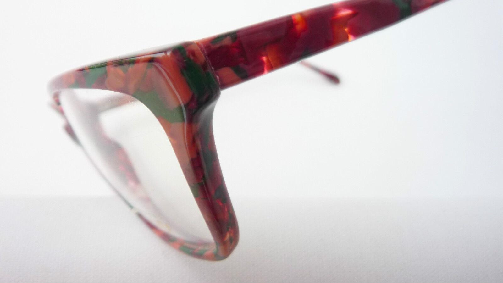 Humorvoll Vintagegestell Brillenfassung Damen Brille Butterfly Dunkel Marmoriert Grösse L Augenoptik