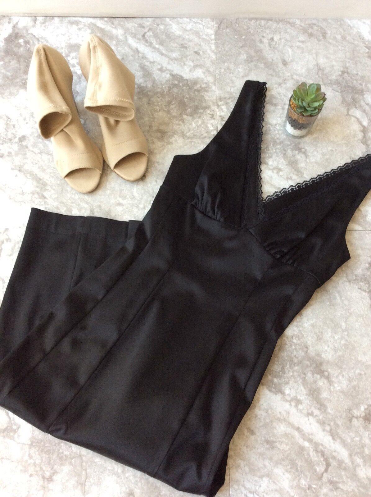 BeBe schwarz Deep-V Cocktail Dress Größe xs, Cocktail classy dress, woman's dress