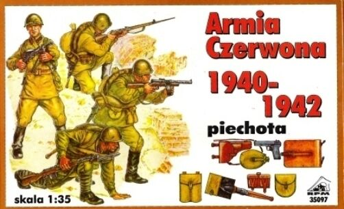SOVIET (RUSSIAN) INFANTRY 1940-1942 (RED ARMY) 1/35 RPM  HALF PRICE !!!