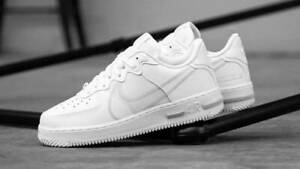 air force 1 react uomo bianche