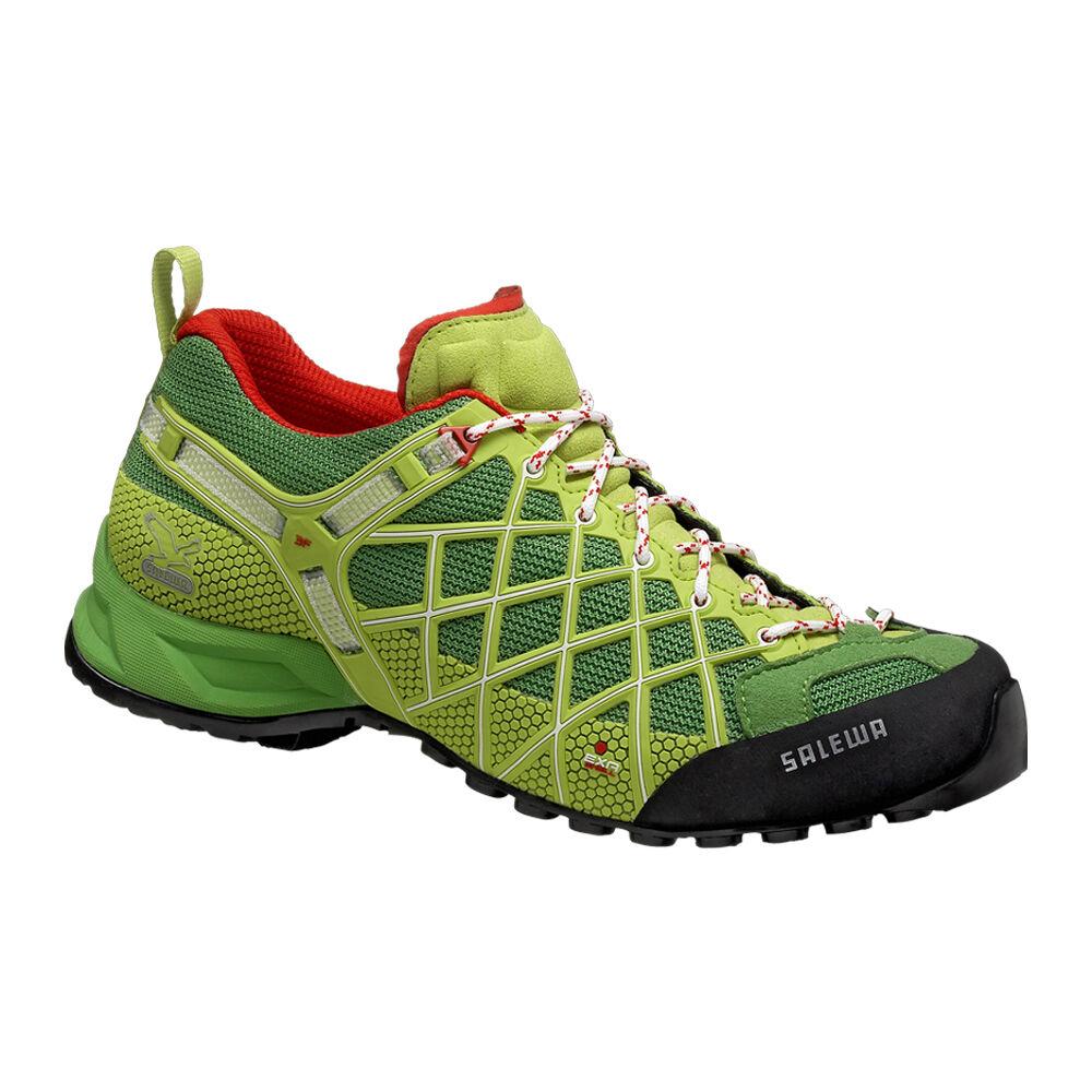 SALEWA Wildfire Herren Wander Trekking Zustiegs Schuh technisch optimal lesen