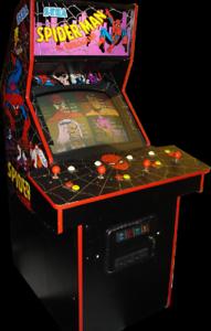 Excellent Condition *RARE* SPIDER-MAN ARCADE MACHINE by SEGA 1991