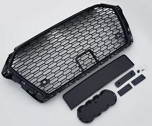 Side Door Wing Vent Fin Grilles L405 Facelift 2018 Style Noir Pack de conversion