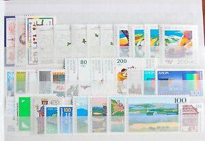 Germany-Complete-Year-1994-Stamp-Set-Souvenir-Sheet-Singles-MNH-German-Stamps