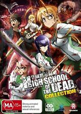 High School of the Dead Collection - Zombies NEW R4 DVD