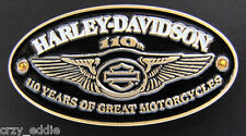 HARLEY DAVIDSON 110TH ANNIVERSARY WINGS VEST PIN ** LADIES **