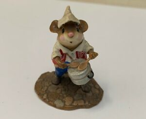 Wee Forest Folk Drum Leader Special Edition Parade Series MP-1 Retired
