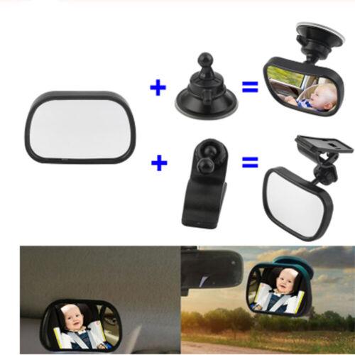 1 Spiegel des hinteren Sitzes Einstellbar Spiegel für Kinder Auto Baby Mirror