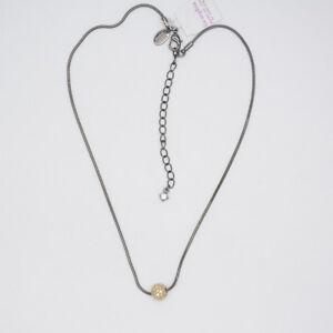 lia-sophia-jewelry-black-chain-gold-tone-cut-crystal-ball-slide-pendant-necklace
