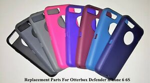 sneakers for cheap 0e053 f61ea Details about iPhone 6 6S For OtterBox Defender Case Replacement Outer  Rubber Silicone Skin