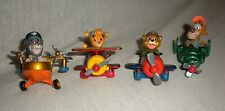 1990 Disney's Tailspin Diecast Metal Planes PVC Toy Figures Set Of 4