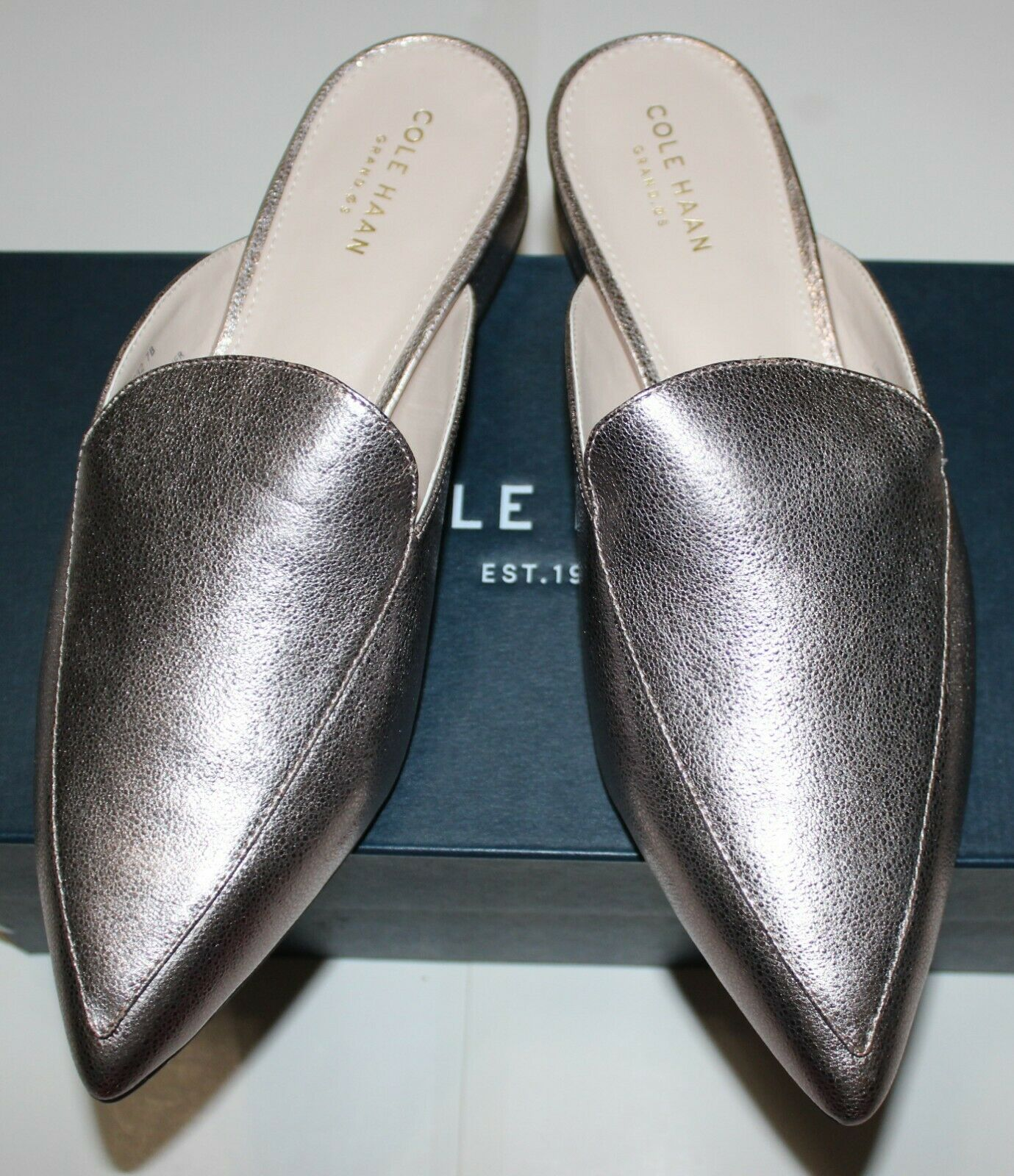 140 COLE HAAN PIPER  GLITTER LOAFER MULE
