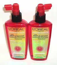 2 LOREAL Advanced HairCare Leave In Triple Resist Ultimate Strength Solution