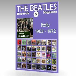 The-Beatles-registros-Revista-N-5-Italia-1963-1972-guia-de-color-completo