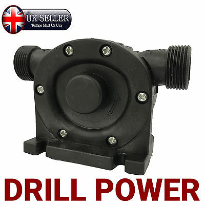 Drill Powerd Pump, Water Pump, Pond, Fluid, Waste, Syphon, Tank, Cleaning,  Empty | eBay