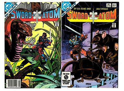 Invigorating Blood Circulation And Stopping Pains Sword Of The Atom #1-4 1983 Dc Vf/vf