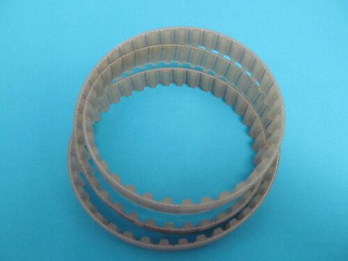 12 mm breit 91 Zähne 12 T5-455 PU Zahnriemen T5-455