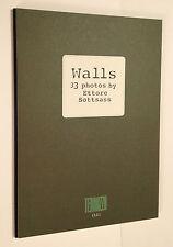 WALLS 33 PHOTOS BY ETTORE SOTTSASS 1995 MONOGRAFIA TERRAZZO 11 BARBARA RADICE