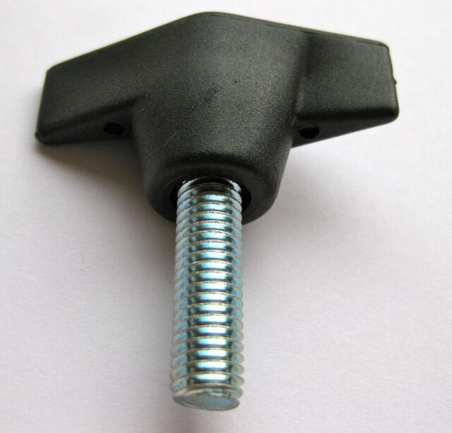 Ala equilibrada pomo tuerca M8 25mm Mariposa Sierra Taladro Enrutador Perno