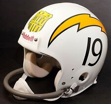 "SAN DIEGO CHARGERS Football Helmet ""ALL-AMERICAN CITY"" Shield Decal/Sticker"
