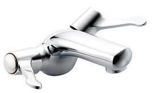 Miscelatore LAVABO MONO LEVA RUBINETTI PEGLER Mercia 351905 Chrome