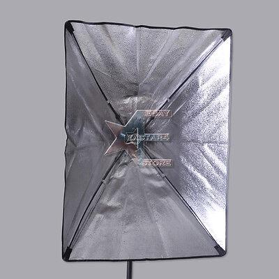 New Light Soft Box for Studio Strobes 70cmx50cm E27 Socket