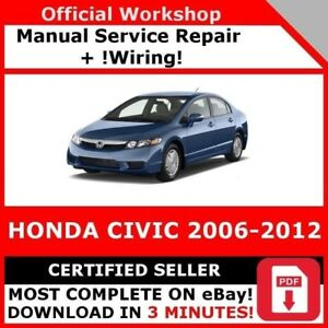 2006 honda civic service manual