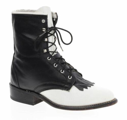 LAREDO Boots 7.5 M Womens Granny Lace Up PACKER LA