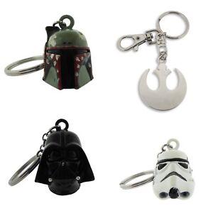 Star Wars Keychain Boba Fett Darth Vader Stormtrooper Rebel Key Chain Costume