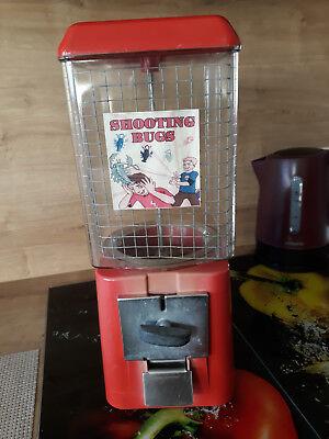 """""""10"""" Cent Kaugummiautomat Aus Makrolon,gebraucht. Exquisite Traditionelle Stickkunst"""
