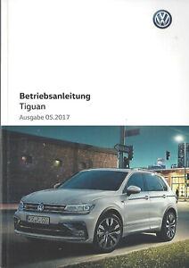 VW-TIGUAN-2-Bedienungsanleitung-2017-Betriebsanleitung-Handbuch-Bordbuch-BA
