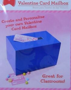 Valentines Day Card Mailbox Create Design Box For School Classroom