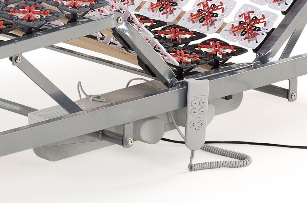 Elektrischer 7 Zonen Motor Teller Lattenrost Lattenrahmen günstig neu