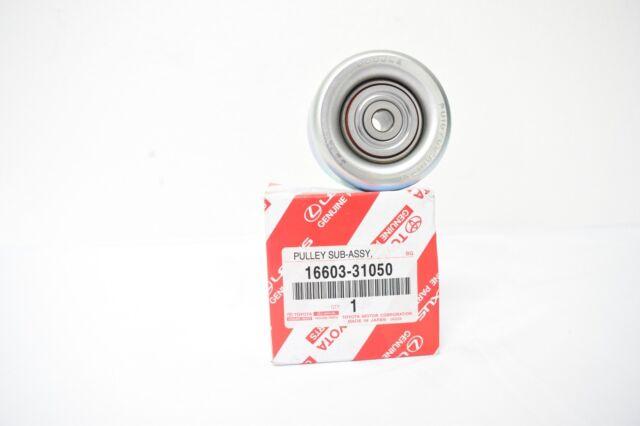 Serpentine Idler Pulley               Genuine OEM Toyota 16603-0P030