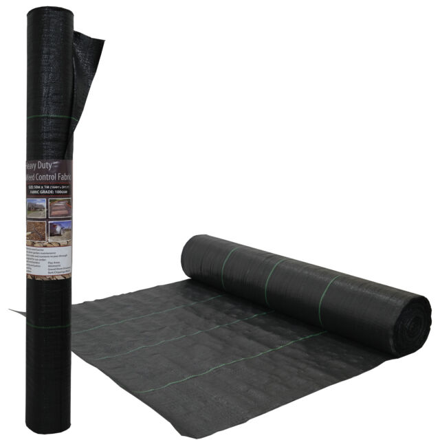 Weed Control Fabric Porous Membrane Rolls Ground Cover Landscaping Multiple Size