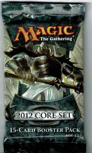 MAGIC THE GATHERING    2012 CORE SET   FACTORY SEALED PACK