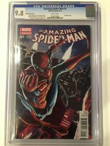 AMAZING-SPIDER-MAN-1-MHAN-VARIANT-COVER-CGC-9-8-WHITE-PAGES