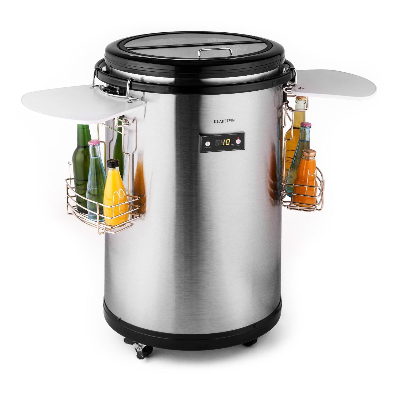 Getränkekühlschrank Bar Kühlschrank Minibar Kühlbox Bodenrollen EEK A+ 50L