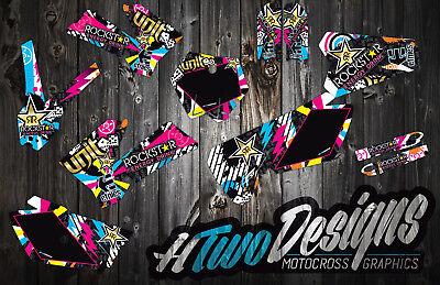KTM 85 GRAPHICS KIT 2006-2012 DECAL KIT STICKERS GRAPHIC KIT KTM85 SX DECALS