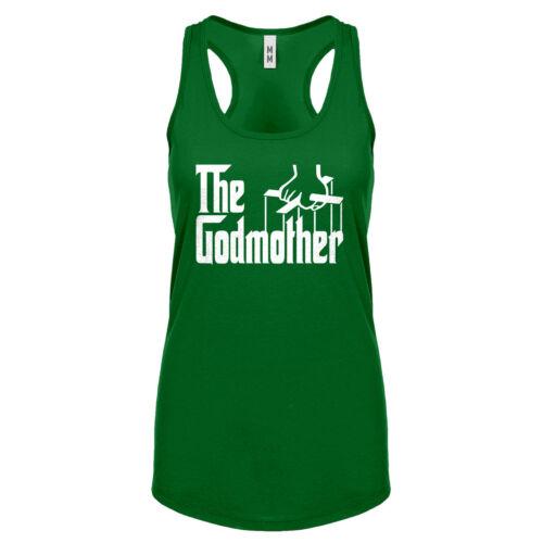Womens The Godmother Racerback Tank Top #3078