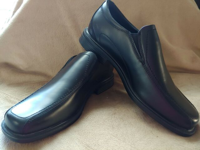 ae6a3aff18c26 NIB Rockport Men's Horan Dress Shoes Slip On Loafers Black Size 8 W Wide  Leather
