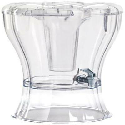 Beverage Dispenser Buddeez Unbreakable 3-1/2-Gallon  W/ Removable Ice-Cone Drink