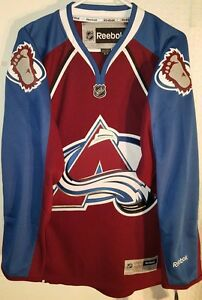 Reebok-Premier-NHL-Camiseta-Colorado-Avalanche-Equipo-Borgona-Talla-S