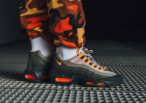 b4ae2a43cf Nike Air Max 95 OG String Total Orange Uk Sizes 6-11 AT2865-200 ...
